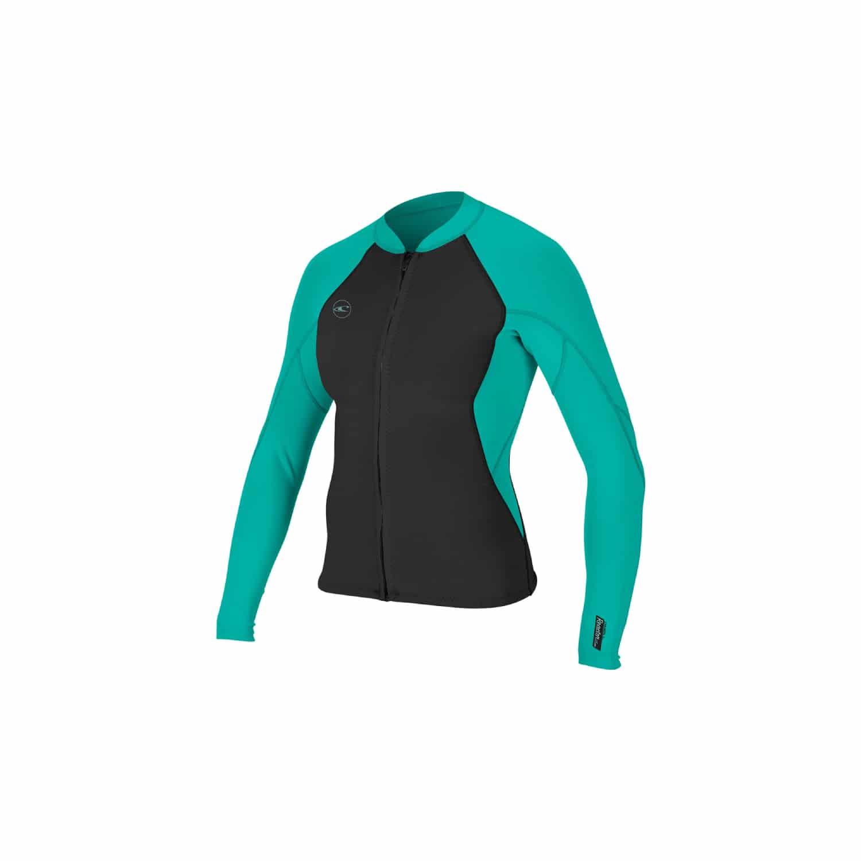 O'Neill Reactor II 1.5mm Front Zip Jacket Womens